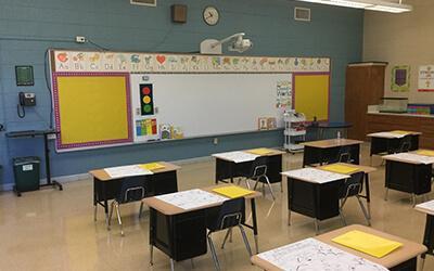 Glenroy Inc. Donates Teaching Equipment to Local School