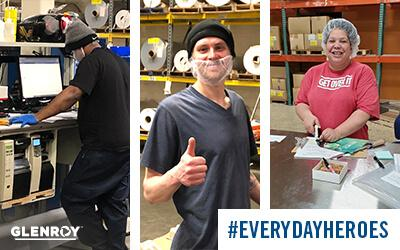 Glenroy Inc. Recognizes Essential Manufacturing Workers During COVID-19 Pandemic