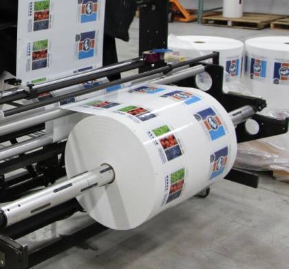 Web Roll on Printer image